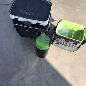 Coolers and Water Jug! for Sale in Bakersfield, CA