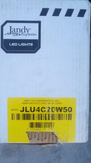 Jandy color light low voltage pool light 20 watt 50 foot for Sale in Las Vegas, NV