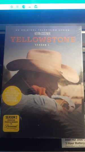 YELLOWSTONE SEASON 1-2 DVD COMBO PACK for Sale in Tacoma, WA