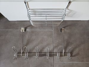 Silver organizers - hangs on doors and cabinets for Sale in San Diego, CA