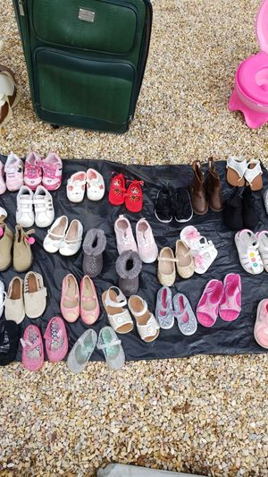 Girls baby shoes and boots for Sale in Palm Springs, CA