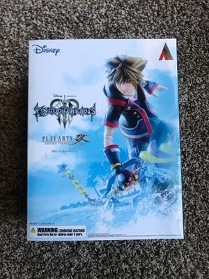SORA Kingdom Hearts 3 KH3 Play Arts Kai Action Figure for Sale in Dallas, TX