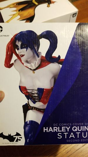 New DC Comics Cover Girls Harley Quinn statue for Sale in Turlock, CA