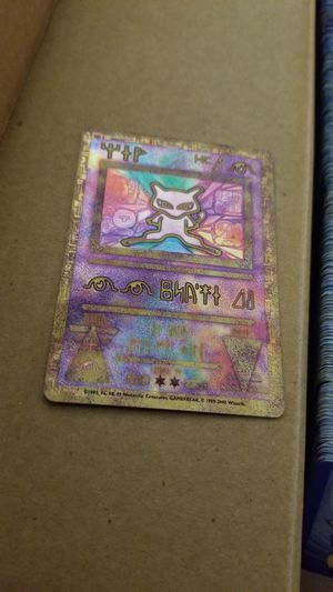 1st edition Pokemon cards, promo, ancient mew for Sale in Youngtown, AZ