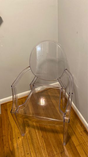 Acrylic ghost chair for Sale in Woodlawn, MD