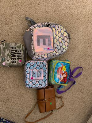 3 bags Full of clothes mostly girl clothes size 12to24 for Sale in Riverside, CA