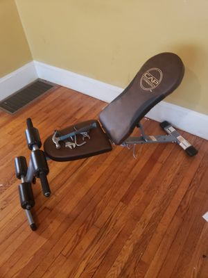 Adjustable workout bench for Sale in Worcester, MA