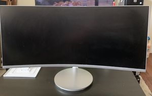 Samsung 34' CF791 Curved Widescreen Monitor for Sale in Los Angeles, CA