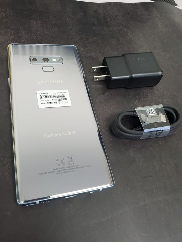 Special edition SAMSUNG note 9***unlock for any sim