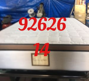 "12"" thick foam Encase 1 Sided Pillow Top mattress. Not rebuild. All new materials. Price includes tax and local delivery. Cash only. Twin Mattre for Sale in Costa Mesa, CA"