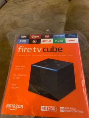 Fire tv cube for Sale in Oakland, CA