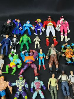 VINTAGE ACTION FIGURES for Sale in Woodway,  WA