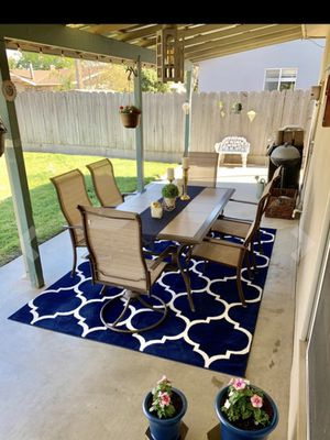 """5""""3x7 gorgeous trellis rug brand new for Sale in Tacoma, WA"""