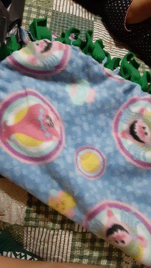 Trolls Fleece Swaddle Blanket for Sale in Mesa, AZ
