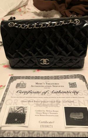 patent leather classic chanel bag for Sale in Queens, NY