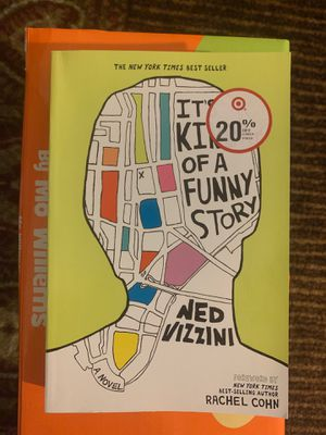 """""""It's kinda of a funny story by Ned Vizzini new book (never used ) - for Sale in Boston, MA"""