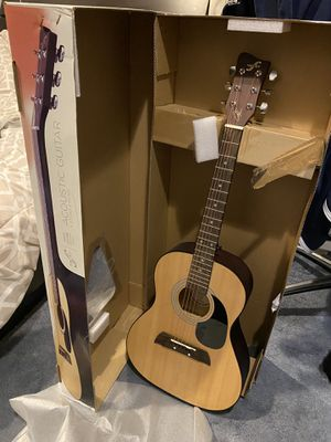 First Act Acoustic Guitar (picks & strap included) - Adam Levine Signed Designer Series for Sale in San Francisco, CA