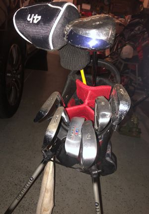 Youth left hand golf clubs for Sale in Mt. Juliet, TN