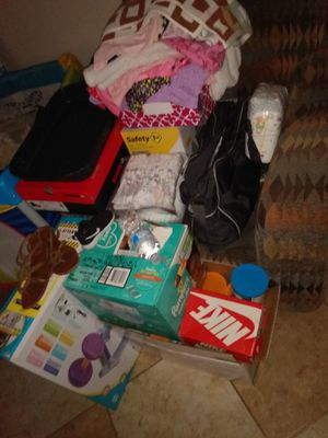 Baby Humidifier, Nikes,Jordans,Babygirl clothes 3-24 months, baby girl shoes ect. SO MANY ITEMS THAT ARE STILL NEW!!! & a few that are gently used for Sale in Round Rock, TX