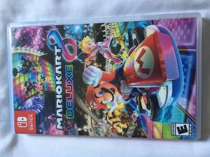 Mario Kart 8 Deluxe - Nintendo Switch Like New for Sale in Anaheim, CA