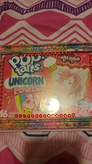 """Poptart"" badazzled unicorn picture (2set) for Sale in Roanoke, VA"
