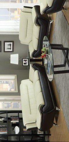🔥Enna Beige/Brown Sofa & Loveseat byGlobal for Sale in Brooklyn Park, MD