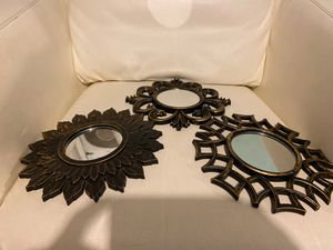Wall decor(small mirrors) for Sale in Pawtucket, RI