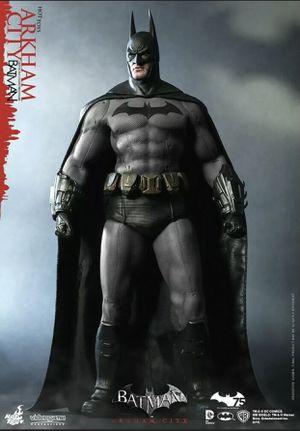 Batman Arkham City | Hot Toys VGM 18 Batman 12 inch Action figure | New for Sale in TWN N CNTRY, FL