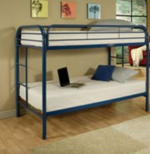 TWIN BUNK BED WITH MATTRESSES for Sale in NEW KENSINGTN, PA