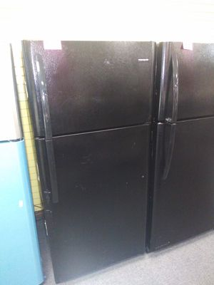 """Frigidaire 30""""wide new open box top and bottom refrigerator 6months warranty for Sale in McDonogh, MD"""