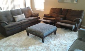 Recliner and sofa bed set for Sale in Laveen Village, AZ