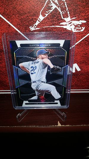 2020 Panini Obsidian Baseball! Hot Clayton Kershaw 'thick' Card! for Sale in City of Industry, CA