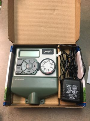 Orbit 4 station sprinkler timer for Sale in Fresno, CA