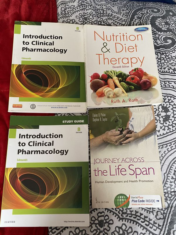 4 brand new Nursing books