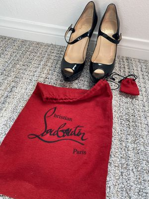Authentic Christian louboutin shoes 39.5 for Sale in Orange, CA