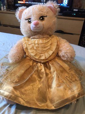 Belle/Bear stuffed animal for Sale in Rosemead, CA