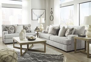 Sofa Loveseat With pillows Take it home today Romeo's Furniture downtown Madera for Sale in Madera, CA