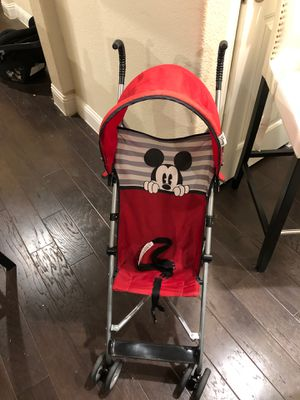 Mickey Mouse Stroller for Sale in Little Elm, TX