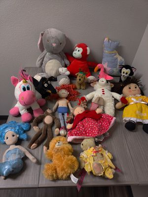 Stuffed Animal Toy Lot for Sale in Port Hueneme, CA