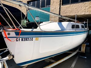 Sail today! 23 foot Aquarius Sailboat w/ Trailer plus 5 sails for Sale in San Diego, CA