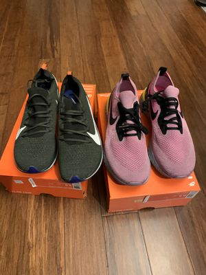 Nike zoom fly flyknit & epic react flyknit supreme Jordan 1 NEW 9.5 for Sale in Millbrae, CA
