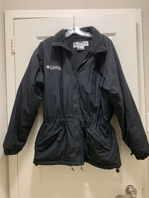 Columbia fleece lined jacket w/drawstring for Sale in Alexandria, VA