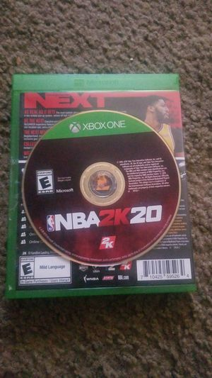 NBA 2k20 , xbox one for Sale in Rancho Cucamonga, CA