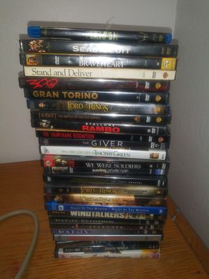 24dvd movies goodones.used for Sale in Fresno, CA