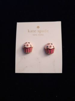 Kate Spade Cupcake Earrings for Sale in Washington,  DC