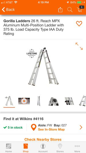 Gorilla ladder for Sale in Pittsburgh, PA