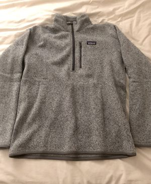 Men's Patagonia L Grey Quarter zip for Sale in Marina del Rey, CA