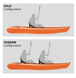 "Kokanee sit on top tandem kayak 10'6"" also water proof bag, anchor, and paddle for Sale in Aberdeen, MD"