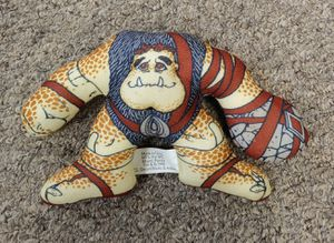 Vintage 1998 Small Soldiers Burger King Soft 'N Cuddly Slamfist Plush Toy for Sale in Burlington, NC