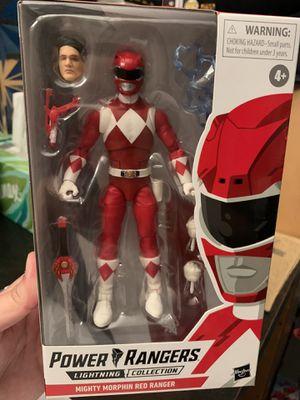 Power Rangers Lightning Collection Red Ranger for Sale in Fresno, CA